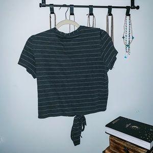 lululemon athletica Tops - Womens Lululemon cropped t-shirt size M